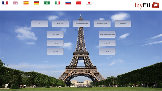 Izyfil is a multilingual solution offering a better experience to your customers and visitors.