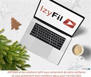 Bonne année 2021 avec IzyFil Avec IzyFil Cap sur 2021 !
