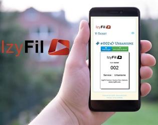 V-Tickets : IzyFil innove encore et vous permet de profiter des tickets virtuels sur smartphone offrant confort et hygiène pour les visiteurs et votre organisation.